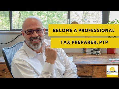 Become a Professional Tax Preparer, PTP