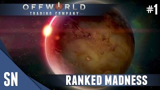 Offworld Trading Company - Multiplayer Gameplay #1: First RANKED!