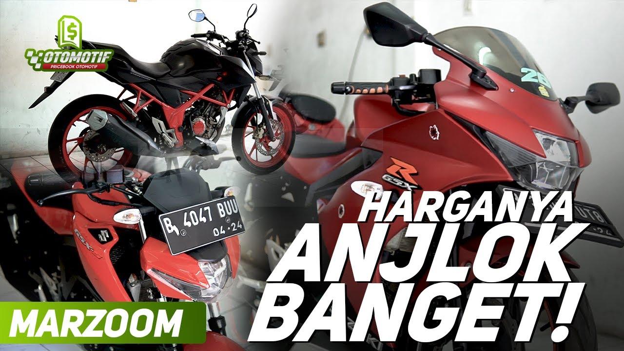 Marzoom 58: CB150R, GSX Bekas cuma 15 Jutaan! Cek Harga Motor Sport Bekas Murah di Jakarta #MarZoom