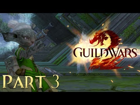 3. Let's Play Guild Wars 2 (Asura Engineer Gameplay) - Golem Positioning System