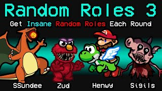 NEW Among Us RANDOM ROLES 3?! (Town of Us Mod)