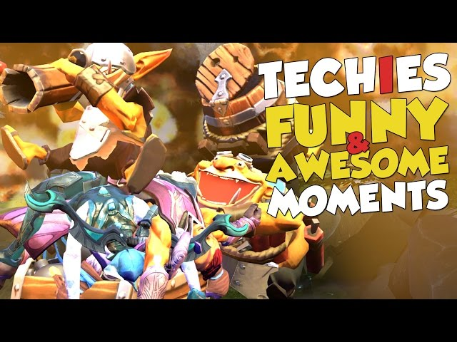 Techies Funny & Awesome Moments!