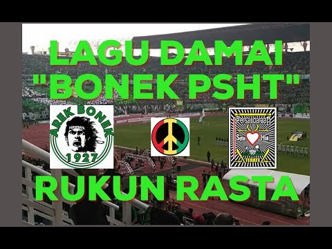 RUKUN RASTA - BONEK PSHT. Lagu untuk perdamaian BONEK dan PSHT (Reggae Indonesia)