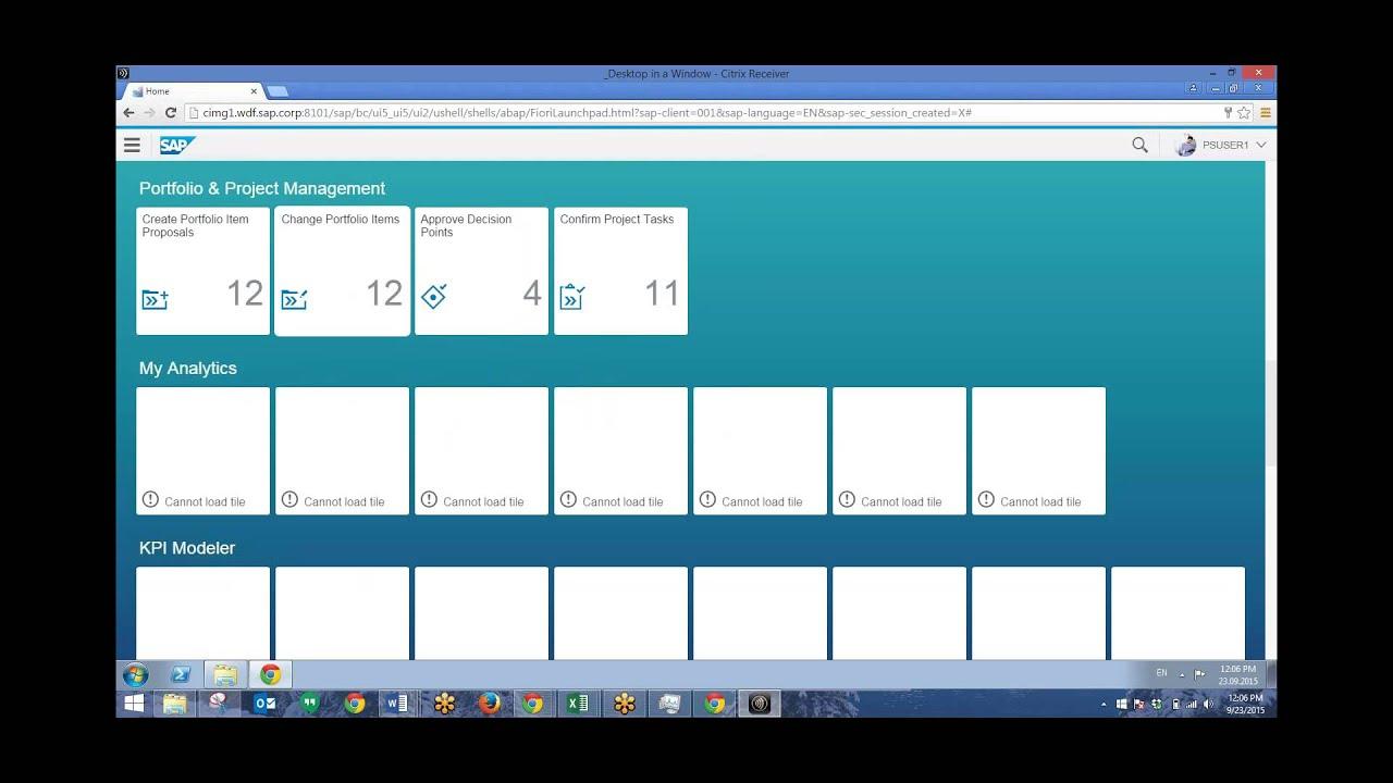 hight resolution of ppm fiori apps sap tutorials
