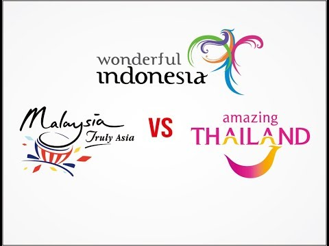 WONDERFUL INDONESIA VS MALAYSIA TRULY ASIA VS AMAZING THAILAND WHO'S THE BEST NEW 2018