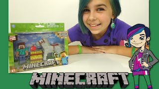 Minecraft - Steve and Horse Toy Figure Series 2 Review!