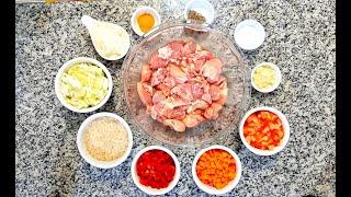 Frango Com Arroz E Legumes Cozidos No Pacote