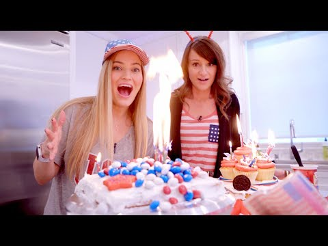4TH OF JULY CAKE CHALLENGE! 🇺🇸✨