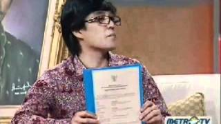 Eden Arifin Pelukis Sultan Mahmud Badaruddin II Part 4/4