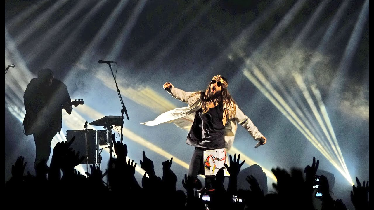 30 seconds to mars live in cape town