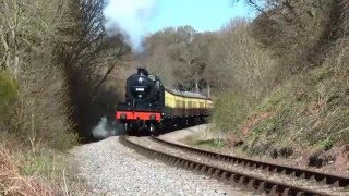 West Somerset Railway on a beautiful Sunday 17th April 2016.