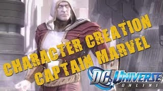 DCUO - Character Creation: Captain Marvel/Shazam Injustice Version