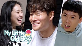 Apink is cooking for Kim Jong Kook in his kitchen? [My Little Old Boy Ep 182]