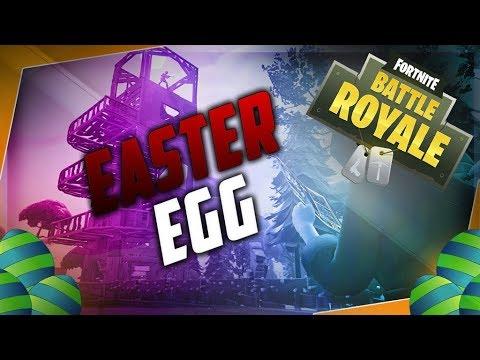 EASTER EGGS + WIN?! (Fortnite Battle Royale)