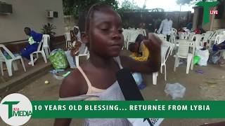 10 Years Old Returnee From Libya Needs Educational Support Reach the Parents on 08131556553
