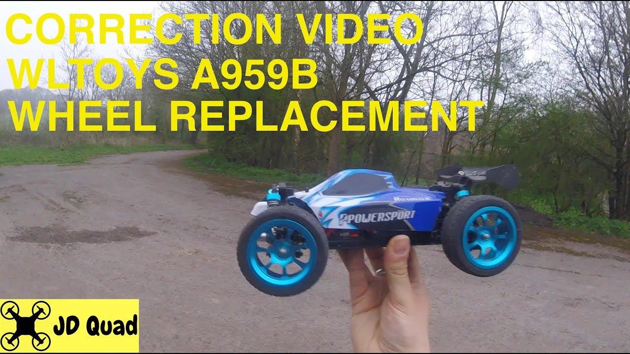 découvrir les dernières tendances le rapport qualité prix parcourir les dernières collections WLToys A959B Scale 1/18 Wheel Replacement & Road Test Correction Video