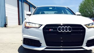 2016 Audi S6 4.0T Quattro S Tronic (A6) Full Review /Start Up /Exhaust /Short Drive