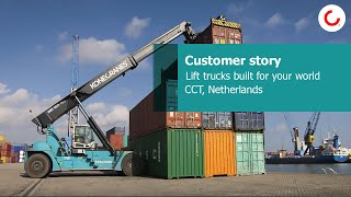 Lift trucks built for your world – CCT, Netherlands