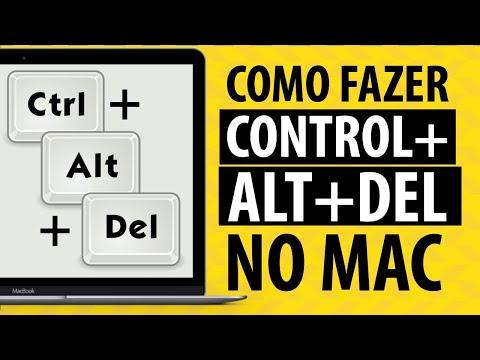 Como fazer Control + Alt + Del no Mac - Passo a Passo!