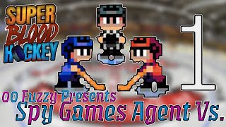 Super Bloody Hockey Let's Play |Bring out the Stretchers| Spy Games Agent Vs.