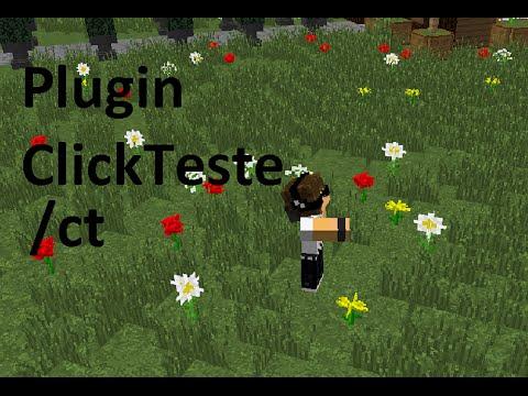 Plugin ClickTeste - MINECRAFT