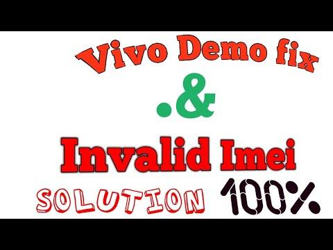 VIVO 1610 invalid imei Demo fix soluition 100% - YouTube