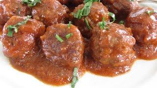 Sweet And Sour Meatballs - The Frugal Chef