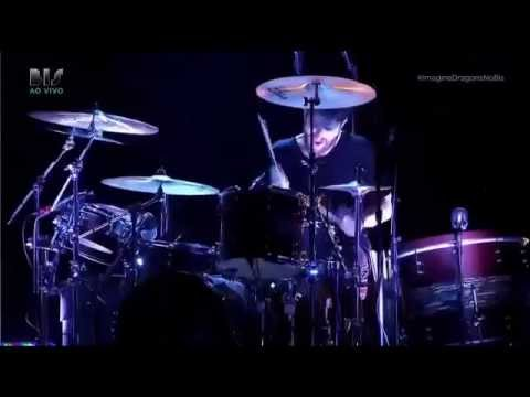 Imagine Dragons - Drumsolo (Live at Sao Paulo 2015)
