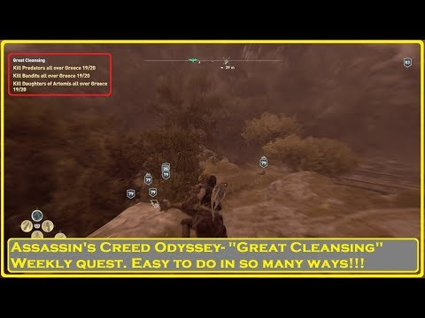 Assassin's Creed® Odyssey- Easy Weekly Quest!!! thumbnail
