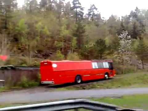 Arendal,Norway buss view