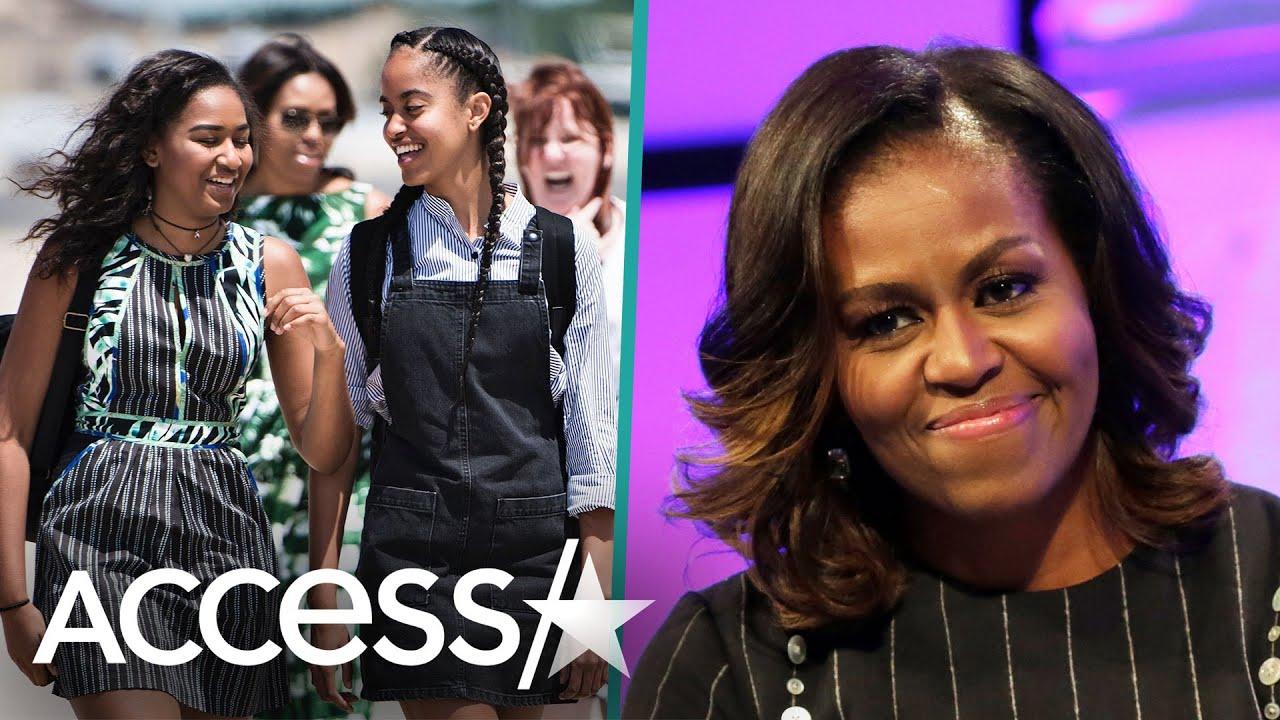Michelle Obama Worries About Malia & Sasha Facing Racism