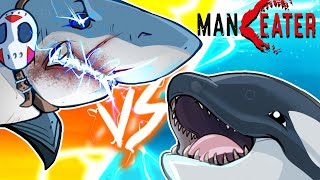 SHARK VS KILLER WHALE!!!! 😱 - Maneater Gameplay (Part 3)