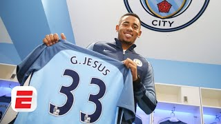 On this date Gabriel Jesus joins Man City FC crew make regrettable predictions  ESPN FC Archive