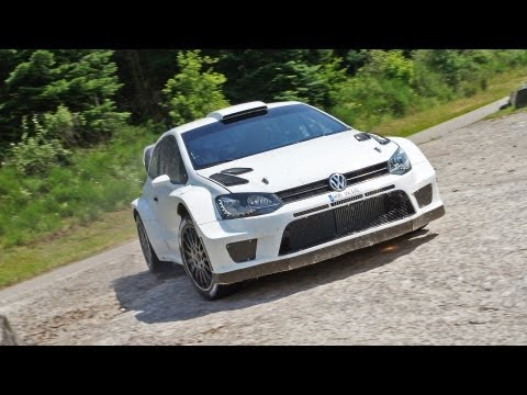 Sébastien Ogier :: VW Polo R WRC :: Test Baumholder / Germany
