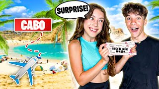 Surprising My Crush with a DREAM VACATION!!! ***emotional reaction*** 🛫🏝 |Symonne Harrison