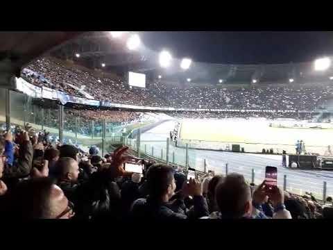 Napoli Barcellona 1 A1 Urlo Champions Curva B
