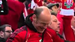 95,000 фанатов «Ливерпуля» хором поют «You