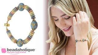 How to Make the Sweet Tweet Bracelet Featuring Raven's Journey Czech Beads