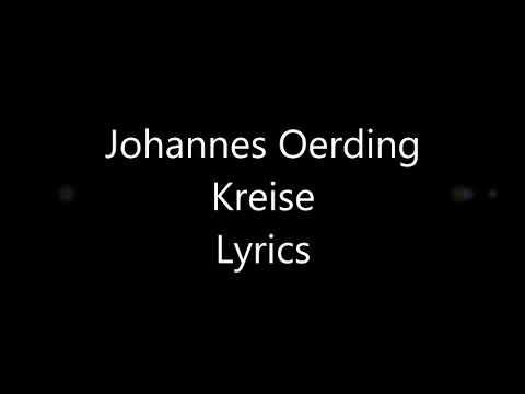 Johannes Oerding Kreise Lyrics