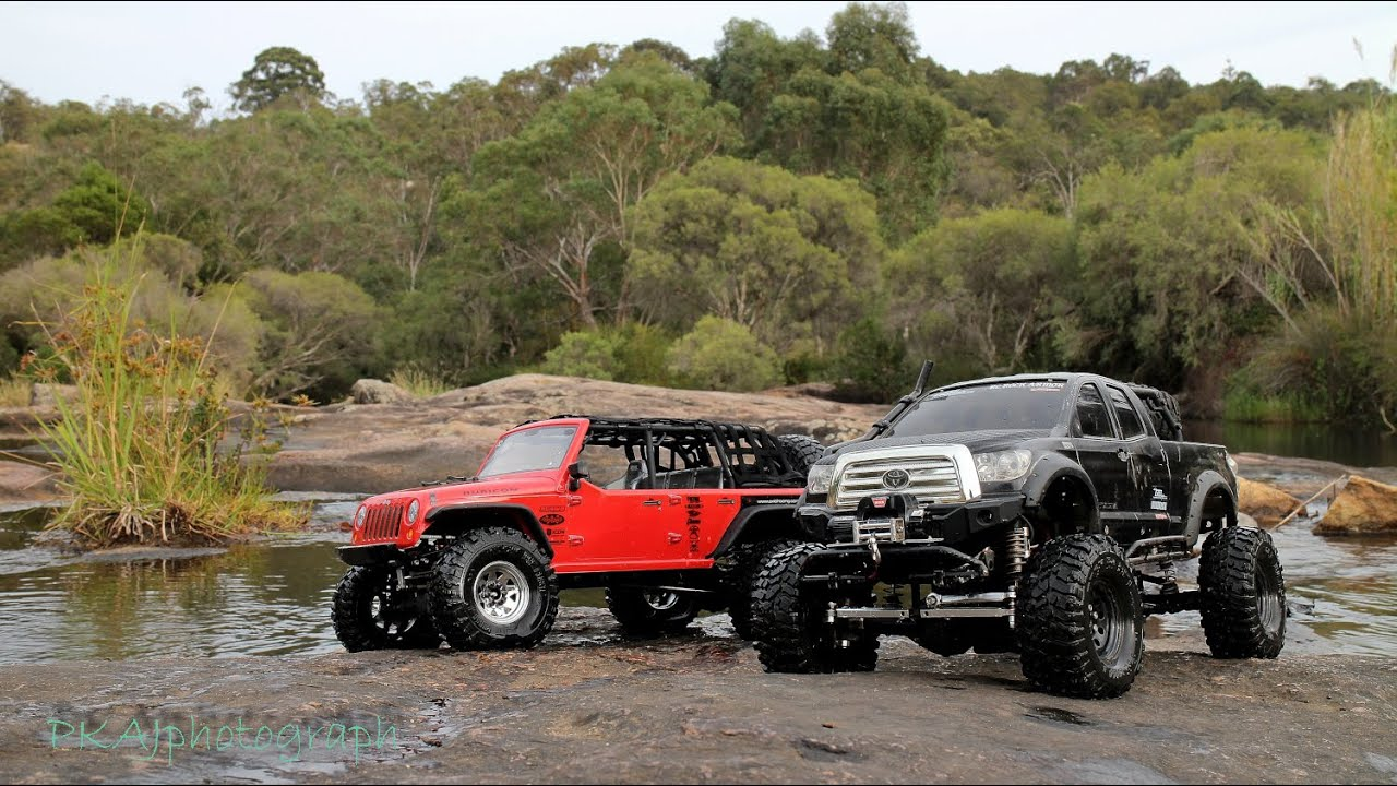Toyota Hilux Tundra And Jeep Rubicon Best Rc Car Rock Crawler Offroad 4x4 Trip Roleystone W A