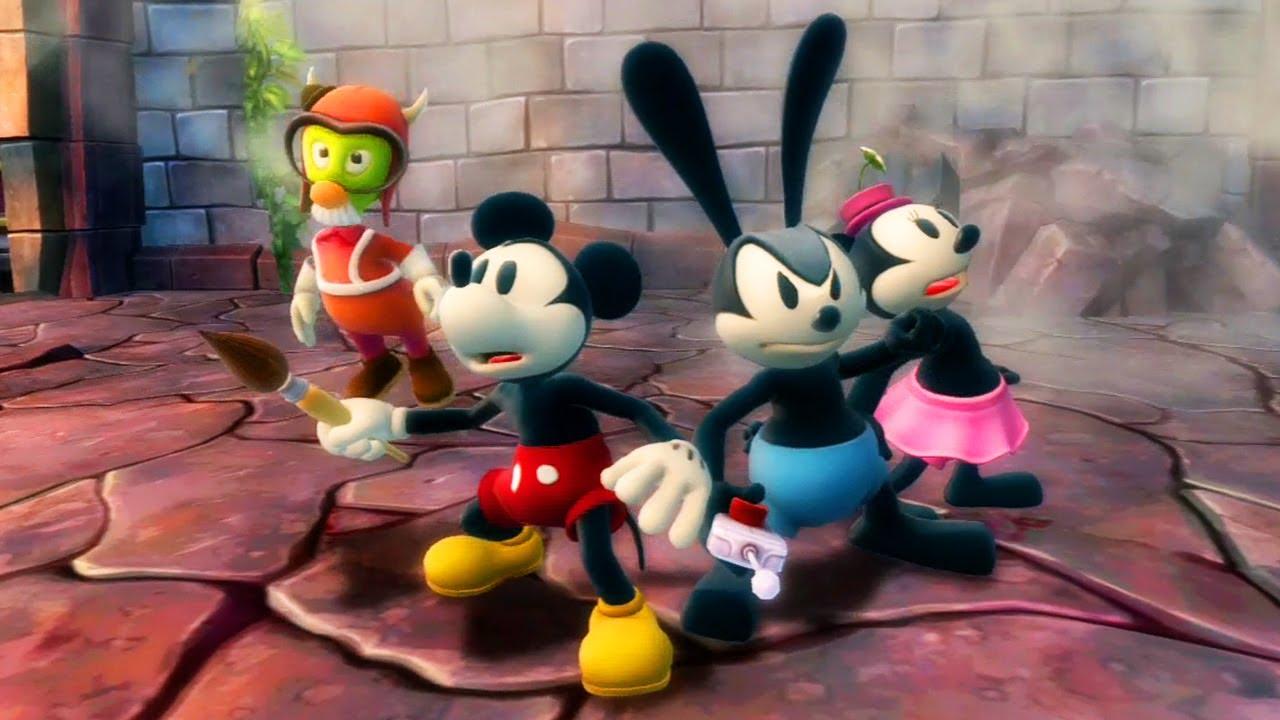 Resultado de imagen para Disney Epic Mickey 2