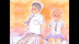 フォーク黎明期の名曲に昭和な手描き色鉛筆絵を付けました 原曲へのオマ...