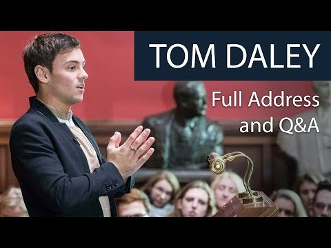 Tom Daley | Full Address and Q&A | Oxford Union