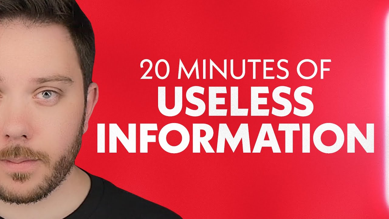 Download A Solid 20 Minutes of Useless Information