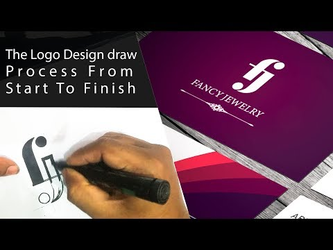 The Logo Design Sketching Process From Start to Finish | Office Stationery Templates Download