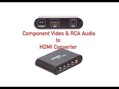 Component Video & RCA Audio To HDMI Converter P#47-300-004