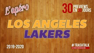 NBA Preview 2019-20 : les Los Angeles Lakers