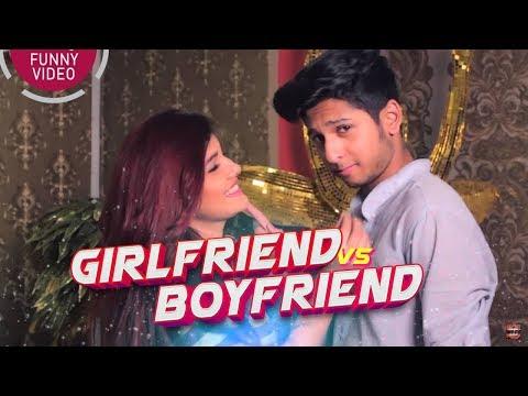 GIRLFRIEND VS BOYFRIEND - গার্লফ্রেন্ড vs বয়ফ্রেন্ড   BANGLA FUNNY VIDEO   TAWHID AFRIDI   GF VS BF
