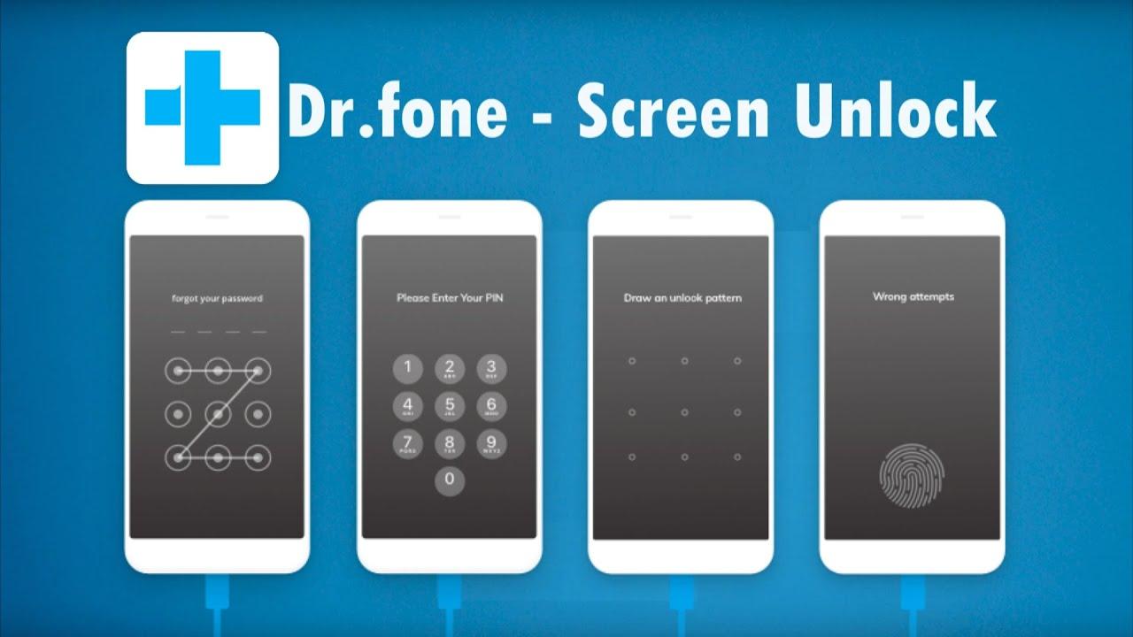 Dr.fone - Screen Unlock -  Как разблокировать телефон Android без пароля  How to unlock Android
