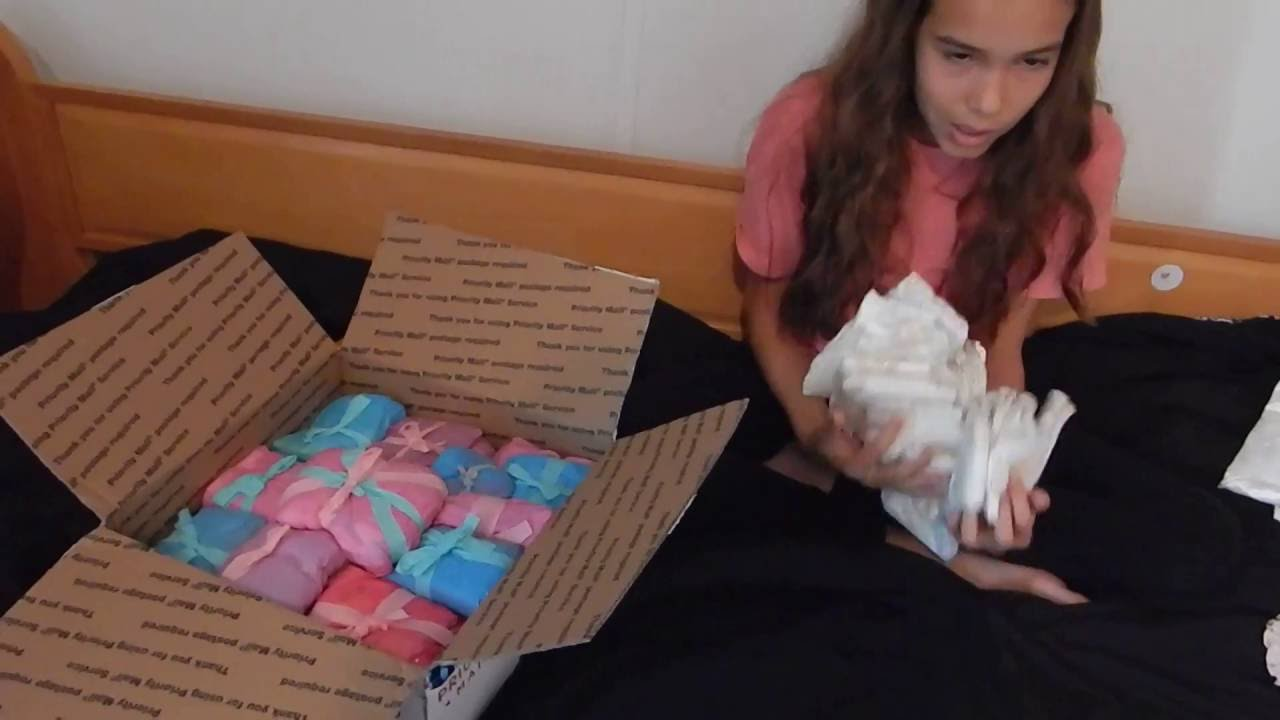 Po Box Package Opening For Reborn And Silicone Baby Dolls